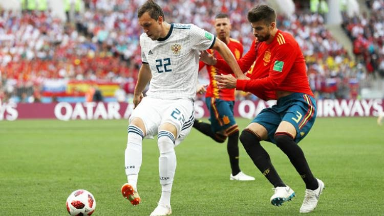 Piala Dunia 2018: Rusia vs Spanyol