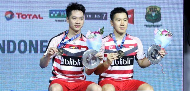 Kevin / Marcus Berhasil Rebut Gelar Juara Indonesia Open 2018