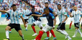 Prancis vs Argentina Piala Dunia 2018