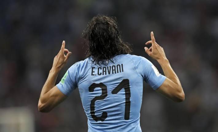 Cavani sukses membawa Uruguay lolos ke babak perempat final