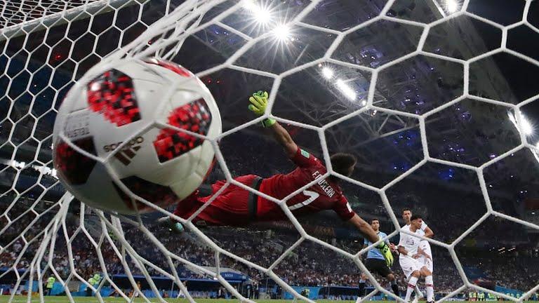 Pepe sukses samakan kedudukan pada laga Uruguay vs Portugal