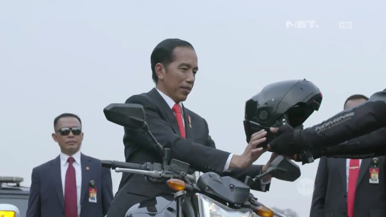 Opening Asian Games 2018 Joko Widodo