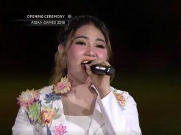 VIA VALLEN Opening Ceremony Asian Games 2018