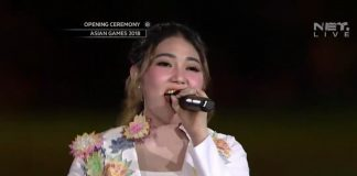 VIA VALLEN Opening Ceremony Asian Games 2018