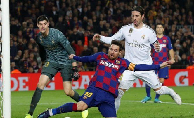El Clasico Barcelona vs Real Madrid Berakhir Tanpa Gol